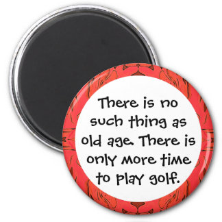 old golfers magnet