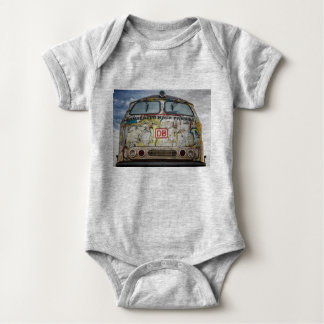 Old graffiti truck baby bodysuit