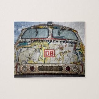 Old graffiti truck jigsaw puzzle
