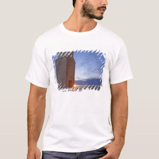 Old granary at Collins Montana at sunrise T-Shirt