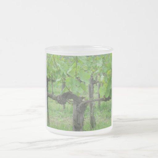 Old grape vine coffee mug