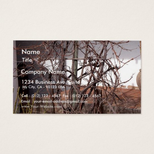 Old Grape Vines Business Card