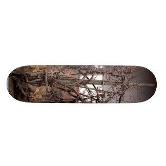 Old Grape Vines Custom Skateboard