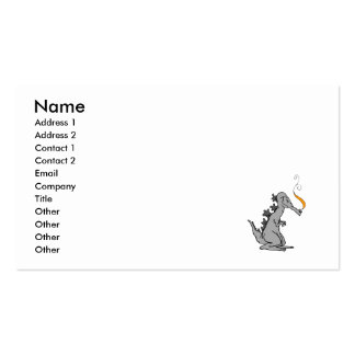 Old Gray Dragon Business Card