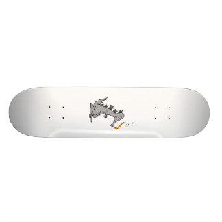 Old Gray Dragon Custom Skate Board