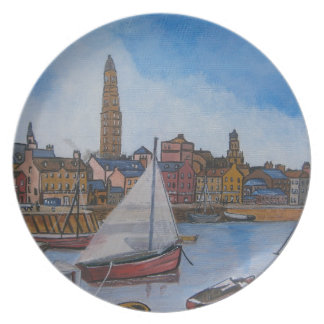 Old Greenock Harbour Plate