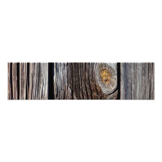 Old grey wooden boards photographic print
