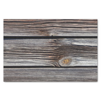 Old grey wooden boards tissue paper