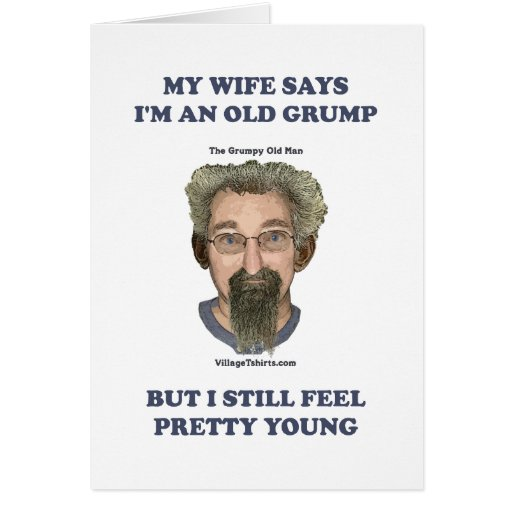 Old Grump Wife Says Cards