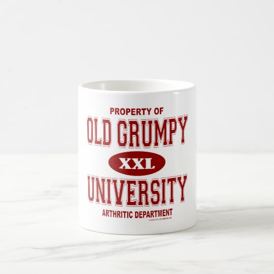 OLD GRUMPY COFFEE MUG
