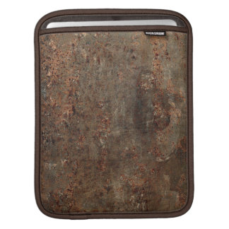 Old Grungy Leather Print iPad Sleeves