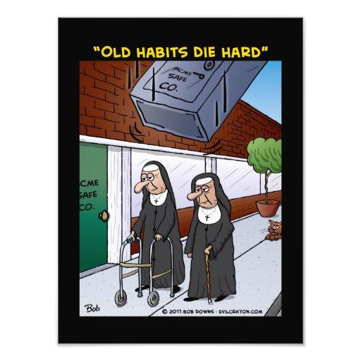 """""""Old Habits Die Hard"""" Photo Print"""