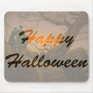 Old Halloween Mouse Pad