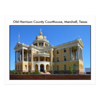 Old Harrison County Courthouse, Marshall, Texas Postcard