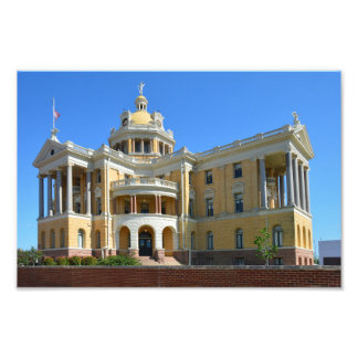 Old Harrison County Courthouse, Marshall, TX 12x8 Photo Print