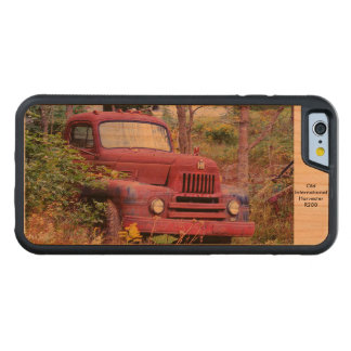 Old Harvester Carved Cherry iPhone 6 Bumper Case