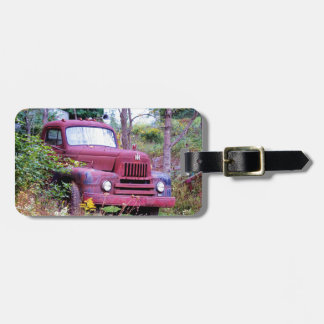 Old Harvester Luggage Tag