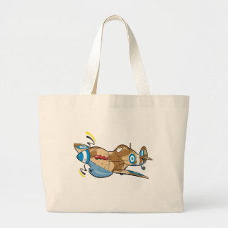 old hellenic royal air force spitfire canvas bag