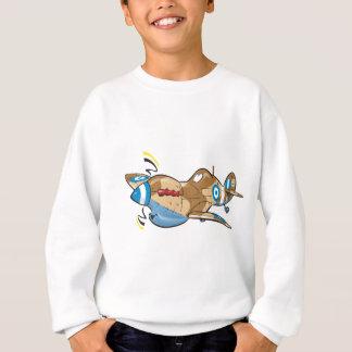 old hellenic royal air force spitfire sweatshirt