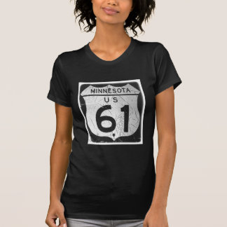 Old Highway 61 sign T-shirt
