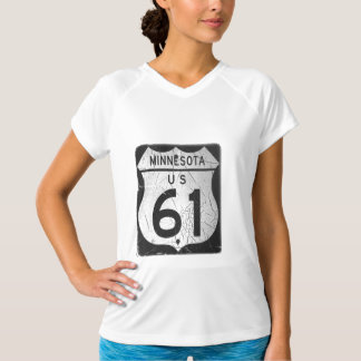 Old Highway 61 sign Tee Shirts