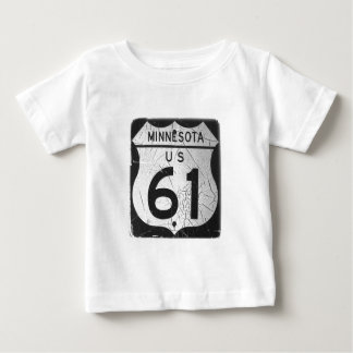 Old Highway 61 sign Tees