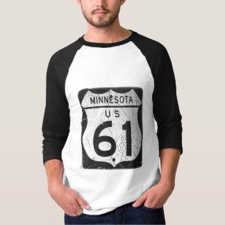 Old Highway 61 sign Tshirts