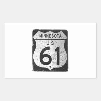 Old Highway 61 sticker