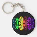 OLD HIPPIE key chain