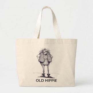 OLD HIPPIE JUMBO TOTE BAG