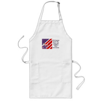 Old Hippies Never Die...   Apron