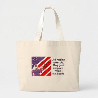 Old Hippies Never Die...   Bag