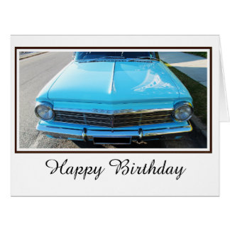 Old Holden Large Greeting Card
