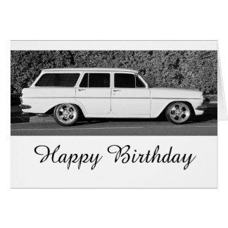Old Holden Greeting Card
