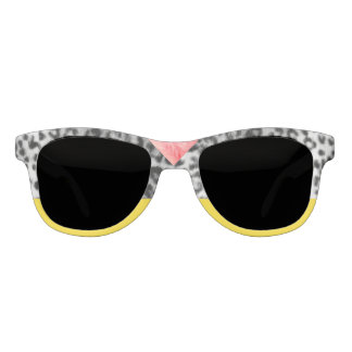 Old Hollywood Leopard & Electro Yellow Statement Sunglasses