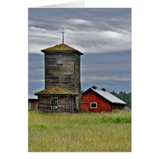 old home stead note card