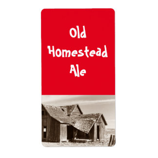 Old on a labels address return address labels zazzle for Classic house labels