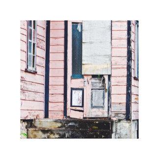 Old House - Barbados - Canvas Art