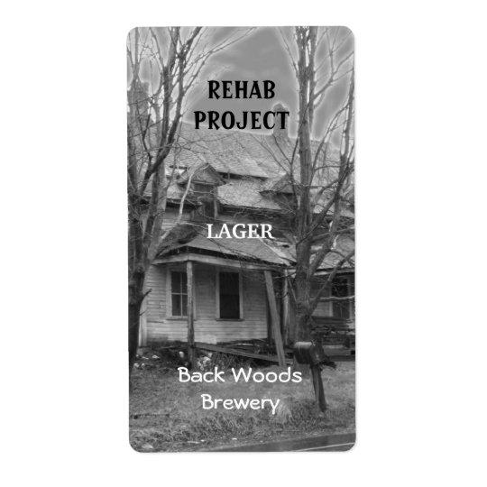 Old House ~ Beer Label
