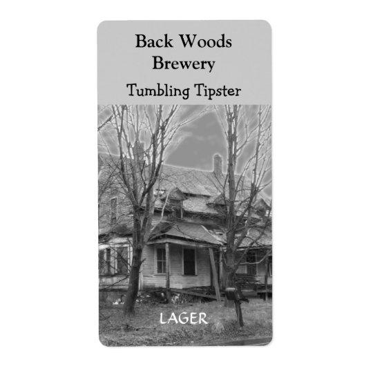 Old House ~ Beer Wine Label