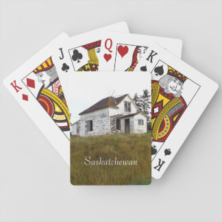 Old House Playing Cards