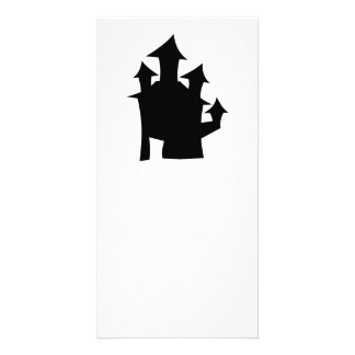 Old House with Towers. Photo Card Template