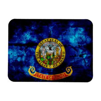 Old Idaho Flag; Rectangular Photo Magnet