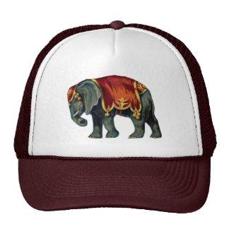 Old iIustração of circus elephant Trucker Hat