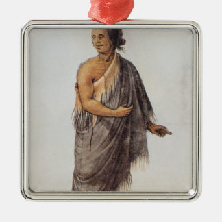 Old Indian Man Christmas Ornament