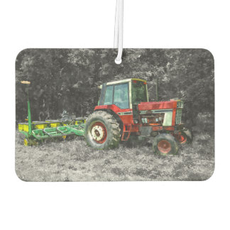 Old International Tractor Painterly Car Air Freshener