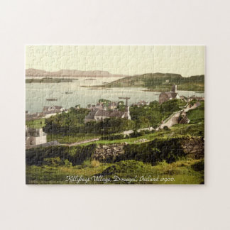 Old Ireland, Killybegs village, Donegal 1900 Jigsaw Puzzle