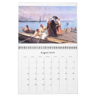Old Istanbul Wall Calendar