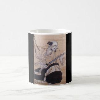 Old Japanese Samurai Painting Coffee Mug