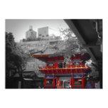 Old Japanese Temple Invitations